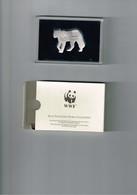 WWF : Panthère En Argent (20 Grammes) Dans Sa Boîte. Jamais Ouverte. 5x3 Centimètres. - Silberzeug