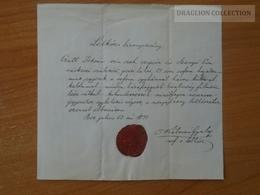 ZA176.3  Old Document Hungary  Pest  1871 - CZUTT  István - Szanyó Éva (Ráckeve) - Wedding