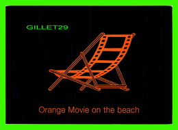 AFFICHES DE FILM - ORANGE MOVIE ON THE BEACH - BOOMERANG 2001 - - Affiches Sur Carte