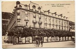 Le MONT-DORE - Hôtel Sarciron  - Voir Scan - Le Mont Dore
