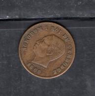 RedD - CAMBOGIA Re Norodom , 5 Cent Del 1860 - Camboya