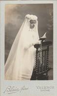 Photo. : C.D.V. : Communiante : Photo. BLAIN FRERES : Valence - Drome - Ancianas (antes De 1900)