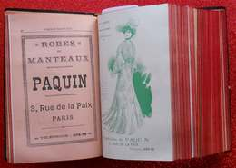 1900 New Art Nouveau Annuaire Général De La Mode 1903 Grands Créateurs Sarah Bernhardt Corsets Robes Coiffeur Chapeaux - Fashion
