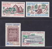 CAMEROUN N°  409 à 412 ** MNH Neufs Sans Charnière, TB (D8413) Folklore Et Tourisme - 1965 - Cameroun (1960-...)