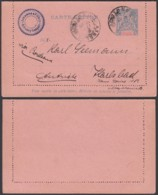 DAHOMEY EP 25c DE PORTO-NOVO VERS AUTRICHE (6G18463) DC-MV549 - Dahomey (1899-1944)