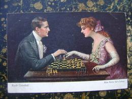 Chess-Slovenia-Ruab Gnischaf-cca 1920  (4015) - Scacchi