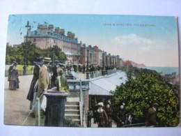 Leas & Shelter, Folkestone, Kent - Posted 1914 - Folkestone