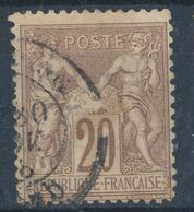 N°67 NUANCE ET OBLITERATION. - 1876-1878 Sage (Type I)