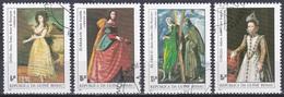 Guinea-Bissau 1984 Kunst Arts Kultur Culture Gemälde Paintings ESPANA Goya El Greco Zurbarán Coello, Mi. 758-1 Gest. - Guinea-Bissau