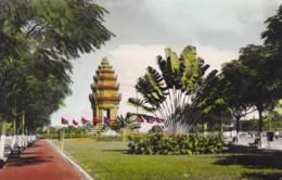 PHNOM-PENH,CAMBODIA POSTCARD - Cambodge