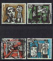 BRD 1957 // Mi. 270/273 O (033..771) - BRD