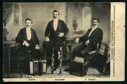Harmonika - Und Clarinette Virtuosen - Gibelli - Bacchetti - Piccoli - Viaggiata 1908 - Rif. 05745 - Musica E Musicisti
