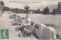CPA Dept 66 FONT ROMEU Par Odeillo Le Grand Hotel La Grande Terrasse - France