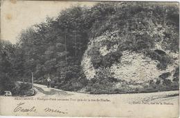 Beaumont   -  Vestiges D'one Ancienne Tour Pris De La Rue De Binche. - Beaumont