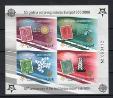 "Montenegro 2006 50° Emi. F.bollo EUROPA"" ND ( BF2B) ** MNH - Montenegro"