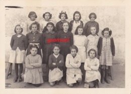 85 - Photographie Scolaire Originale Angles (vendée) 1948. A Mademoiselle Porchier. Photo L. Boitrel Bazoches - France