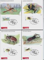 Belgique: N° 2630/35  CM  Du 03/05/96  Bruxelles   Dessin: J. Doppée - 1985-.. Vogels (Buzin)