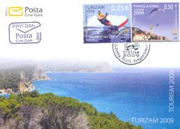 2009, FDC, Tourism, Montenegro, MNH - Montenegro