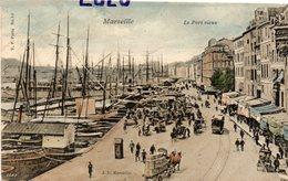DEPT 13 : édit. J D N° 11 : Marseille Le Port Vieux - Vecchio Porto (Vieux-Port), Saint Victor, Le Panier