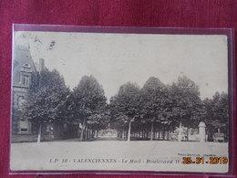 CPA - Valenciennes - Le Mail - Boulevard Watteau - Valenciennes