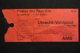 NL UN Bataillon UNPROFOR / FORPRONU In Bosnia/Croatia - NAPO 80 - Poststempels/ Marcofilie