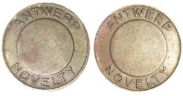 02789 GETTONE JETON TOKEN BELGIUM ADVERTISING VENDING ANTWERP NOVELTY - Unclassified