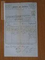ZA176.11   Old Document  Schlesien Czehia - Andělská Hora - Engelsberg - Amalia (1847) - Jozef Ruby - 1870 - Naissance & Baptême