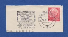 MWSt - Minden, 200 Jahr Feier Schlacht Bei Minden 1959 - BRD