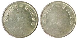 02476 GETTONE JETON TOKEN GAMING BINGO MULTI BINGO TOKEN - Allemagne