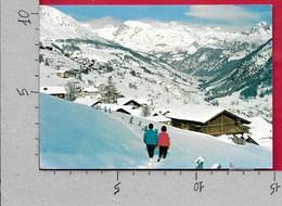 CARTOLINA VG ITALIA - VAL D'AYAS (AO) - Panorama Invernale - 10 X 15 - ANN. 197? - Italia
