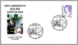 Visita De S.S.BENEDICTO XVI Al Area Del TERREMOTO -  Earthquake. L'Aquila 2009 - Geología