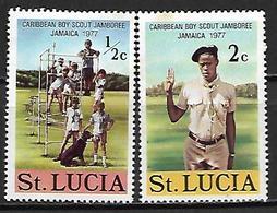 SAINTE LUCIE    -    1977 .   SCOUTS    -     Neufs *  . - St.Lucie (1979-...)