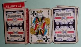 Rare Jeu De 32 Cartes En Boite, KRONENBOURG, Bières Bière - 32 Karten
