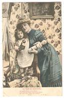 CPA Fantaisie - Noël De Jeannette - Fillette Jouets Cadeaux Poupées 1904 - Fantaisies