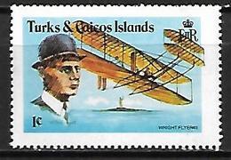 TURKS  &  CAICOS     -    AVION  /  WRIGHT   -     Neuf **  . - Turks & Caicos (I. Turques Et Caïques)