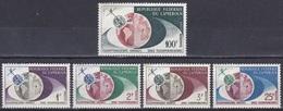 Kamerun Cameroon Cameroun 1963 Kommunikation Communication Telstar Satelliten Satellites Fernsehen, Mi. 381-5 ** - Kamerun (1960-...)