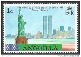 134 Anguilla Statue Liberté Liberty MNH ** Neuf SC (ANG-66) - Monuments