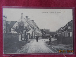 CPA - Warhem - La Rue Des Rentiers - Autres Communes