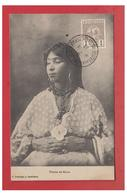 "MAROC-- FEMME DU MAROC-- ""TRESOR ET POSTES AUX ARMEES -CASABLANCA""-- CP 1913-- - Casablanca"