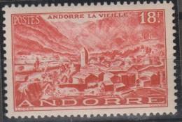ANDORRA Francese 1944 1v MiN°133 MNH - Andorra Francese