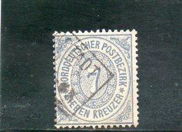 CONFEDERATION DU NORD 1869 O - Norddeutscher Postbezirk (Confederazione Germ. Del Nord)