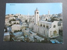 19864) ISRAEL BETHLEHEM PANORAMA VIAGGIATA - Israele