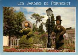 Dep 44 , Cpm  PORNICHET , Le Jardins De L'Hotel De Ville , 24 (D09.4373) - Pornichet