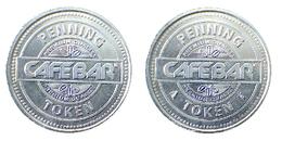 00153 GETTONE JETON TOKEN THE NETHERLANDS VENDING DISPENSER MACHINE CAFFE BAR - Unclassified