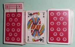 Rare Jeu De 54 Cartes En Boite, SHELL Coquille St Jacques - 54 Cartes