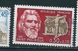 N° 1552  Célébrité Paul Roux Timbre France 1968 Oblitéré - Francia