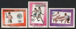 Yemen 1964 Scott 6428-30 MNH Olympic Games Tokyo - Jemen