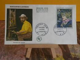 Toulouse Lautrec - 81 Albi - 12.3.1965 FDC 1er Jour - Coté 10€ - 1960-1969