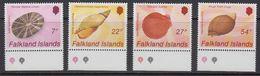Falkland Islands 1986 Shells 4v (+margin) ** Mnh (41726B) - Falklandeilanden