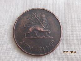 Ethiopia: 50 Santeem 1936 EE = 1944 - Ethiopia